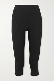 Ninety Percent Cropped stretch organic cotton-jersey pants