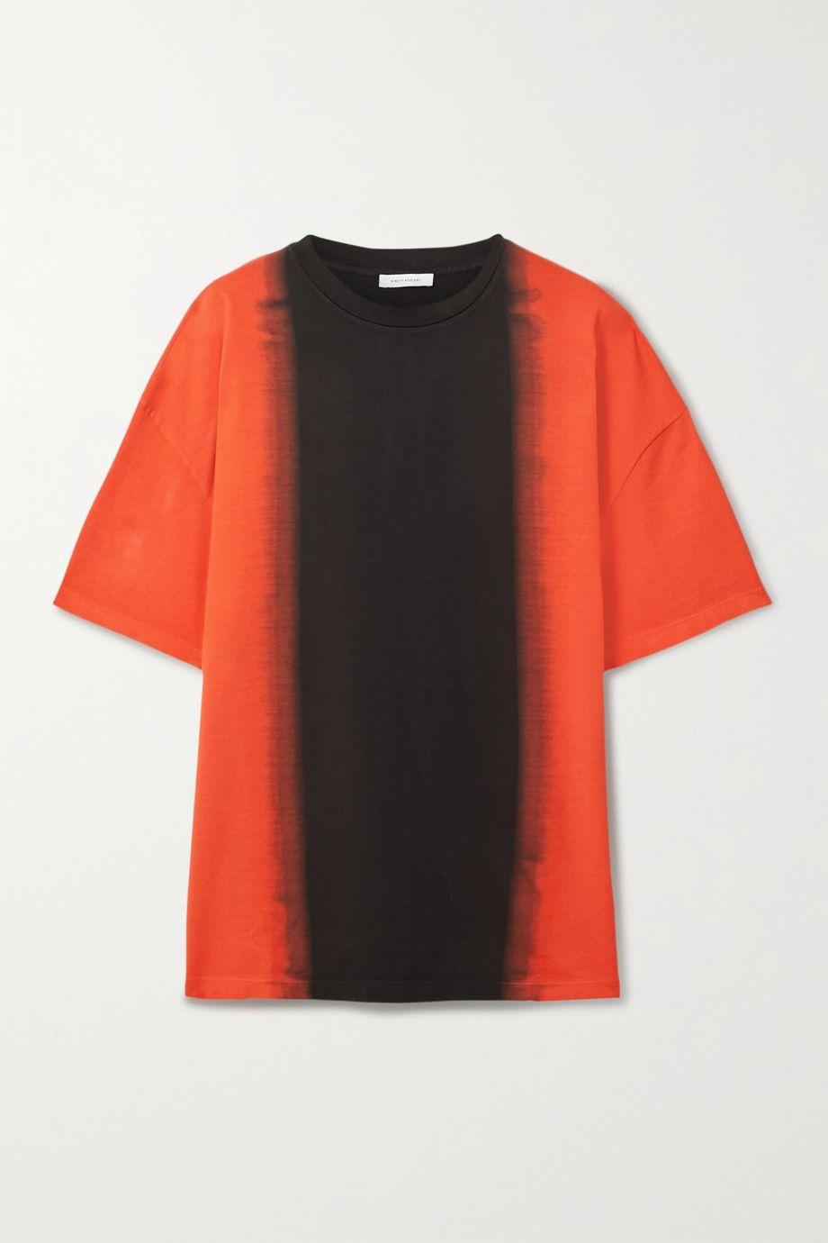 Ninety Percent Oversized dégradé organic cotton-jersey T-shirt