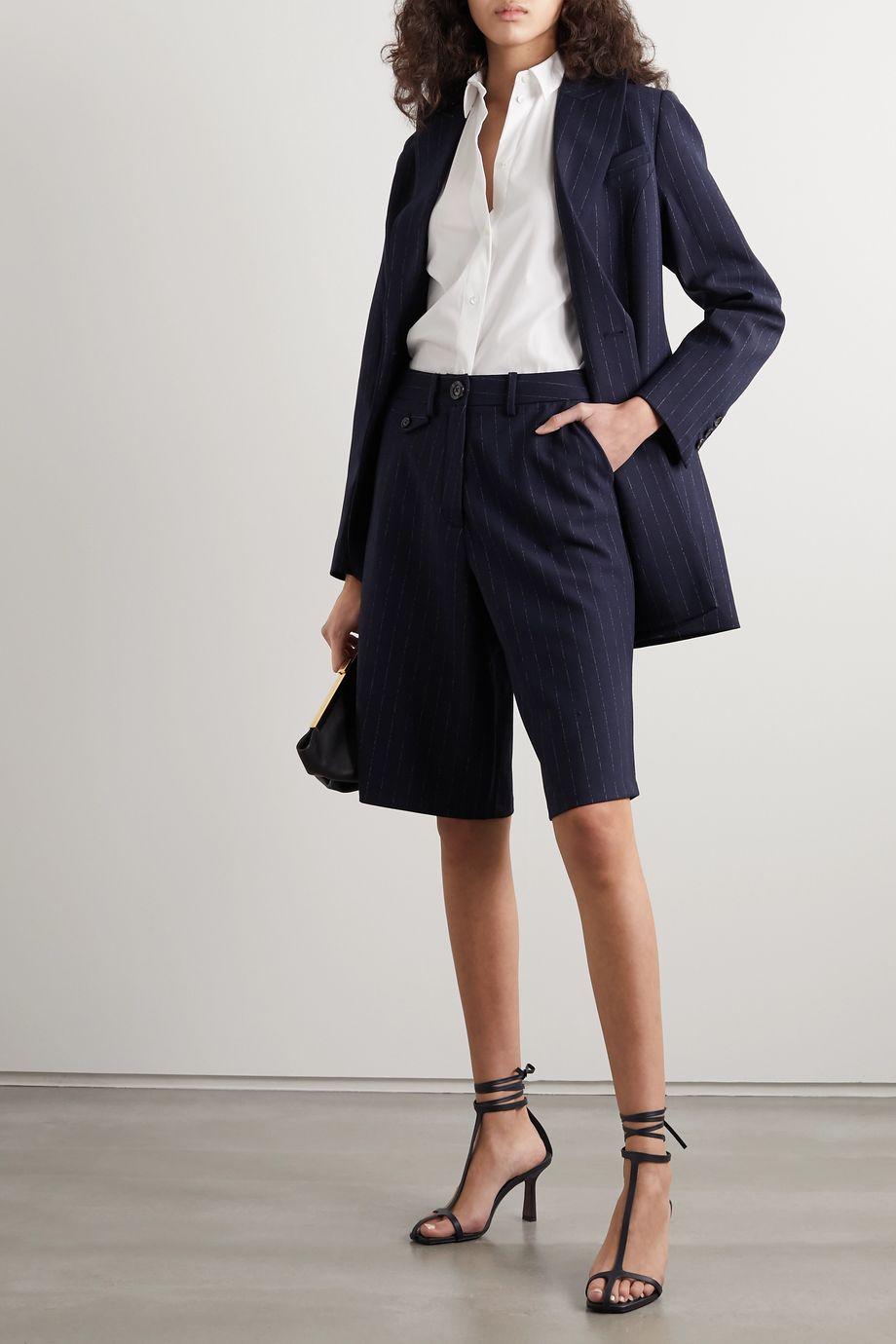 La Collection Emilia cotton-blend poplin shirt