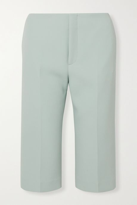 Sky blue Twill shorts | Maison Margiela YqYDOt