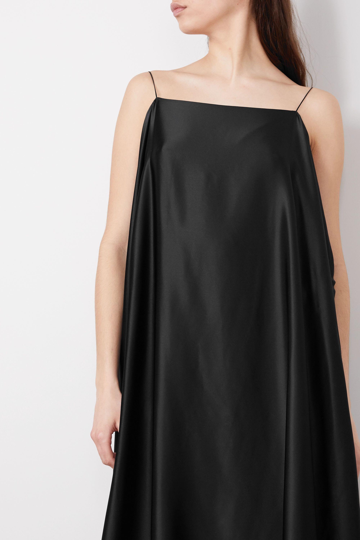 BERNADETTE Meredith silk-satin maxi dress