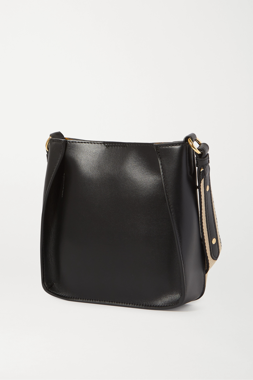 Stella McCartney Small perforated vegetarian leather shoulder bag