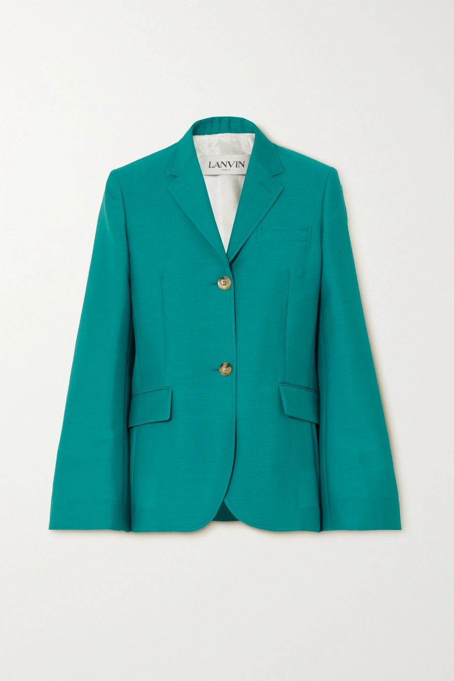Lanvin Mohair and wool-blend blazer