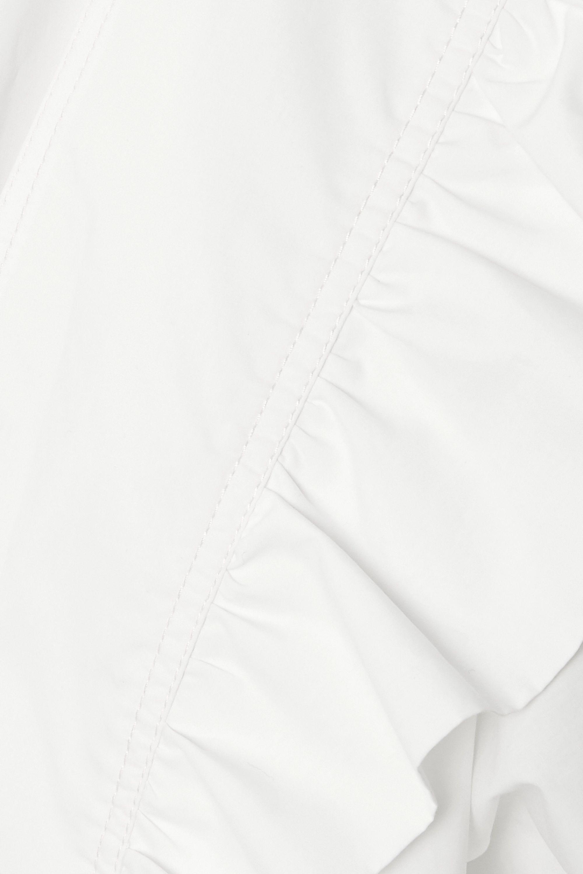 Philosophy di Lorenzo Serafini Ruffled cotton-poplin playsuit