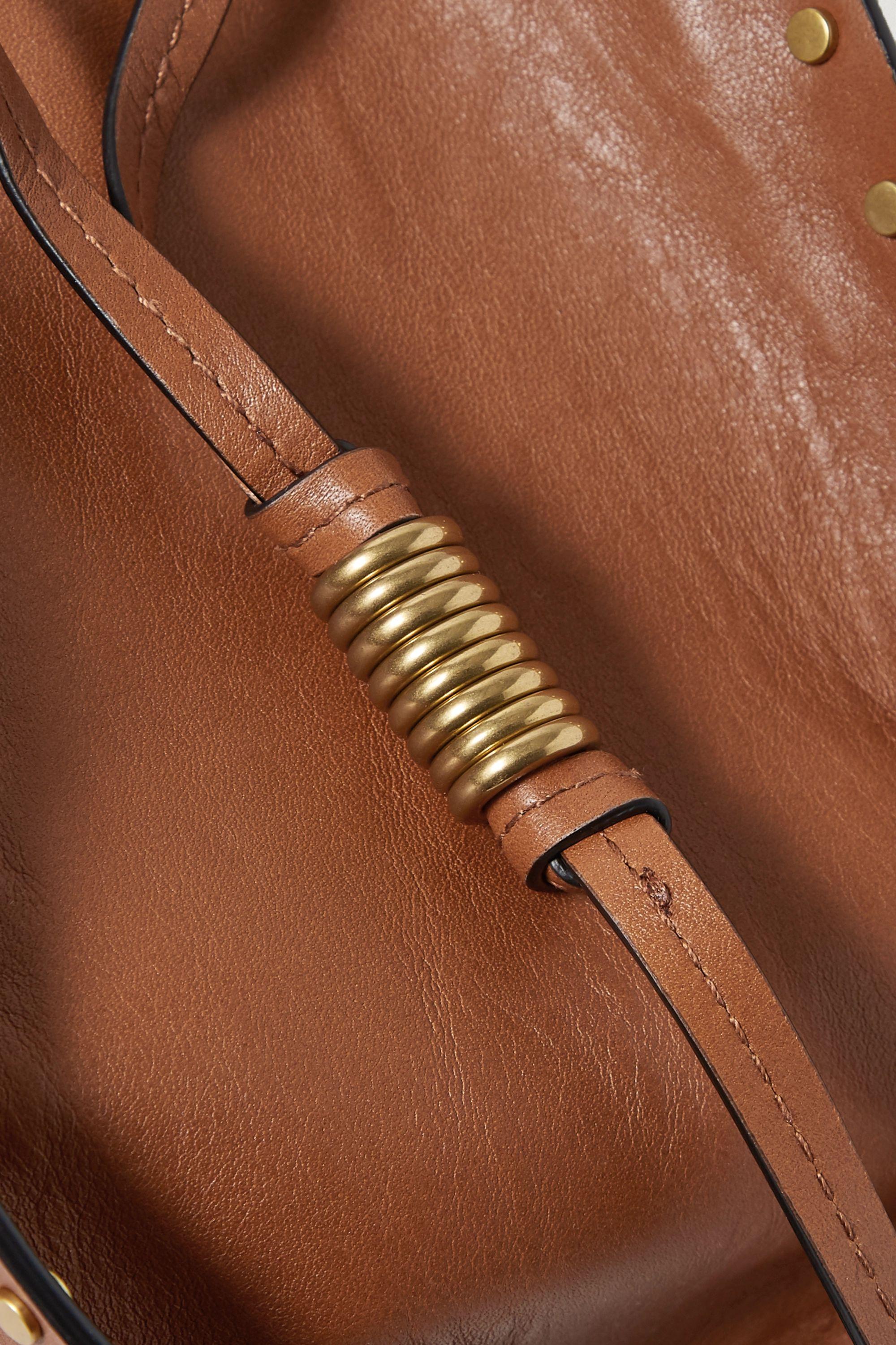 Isabel Marant Radja studded leather bucket bag