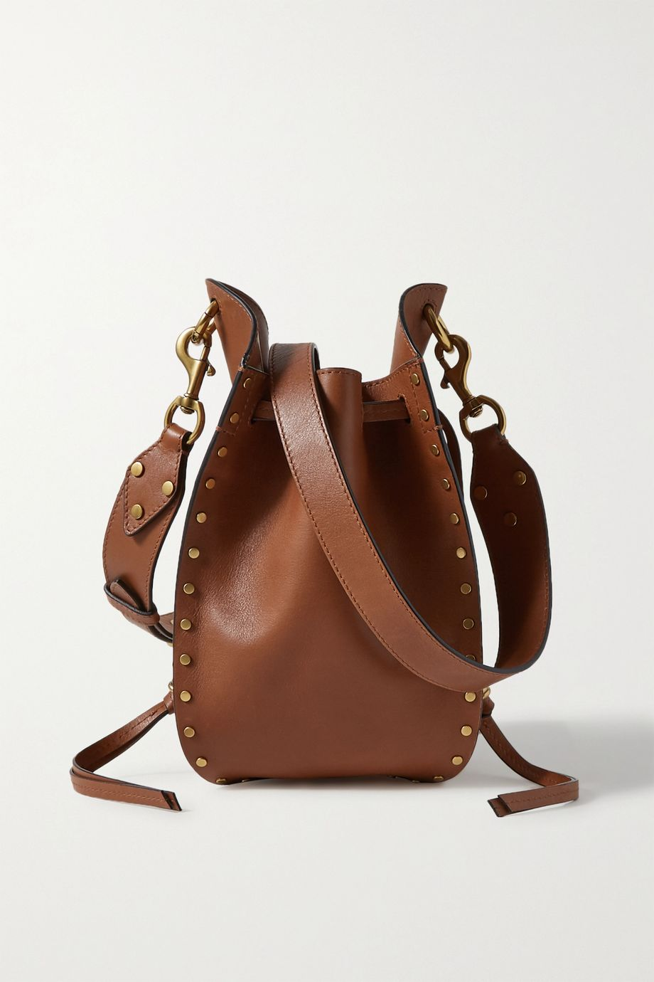 Isabel Marant Radja studded leather bucket bag