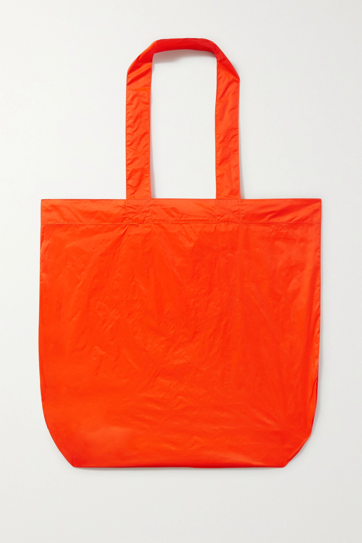 Isabel Marant Woom Schultertasche aus Shell mit Print