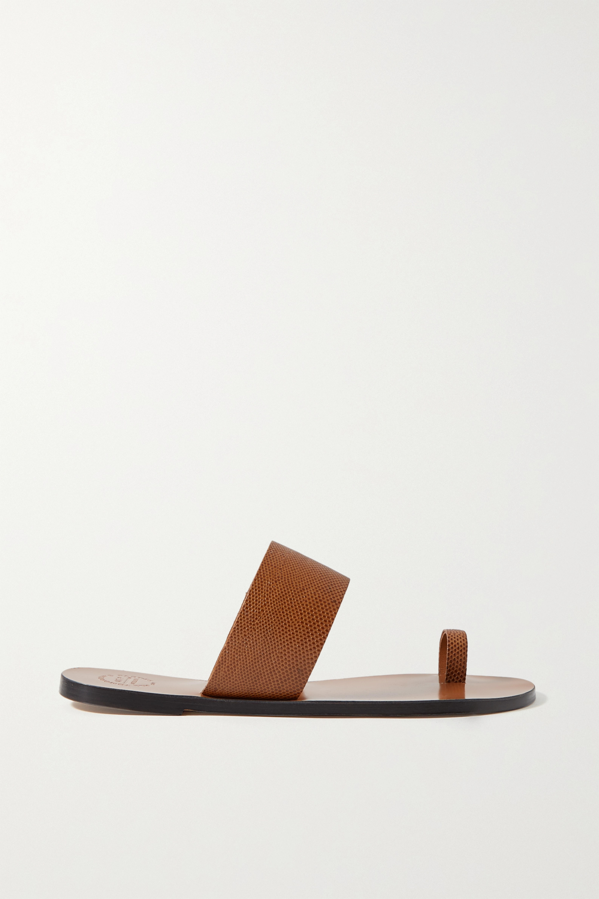 ATP Atelier Astrid lizard-effect leather sandals