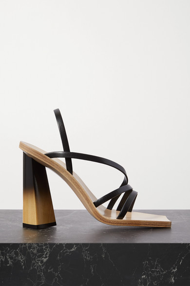 Givenchy Sky highs LEATHER SLINGBACK SANDALS
