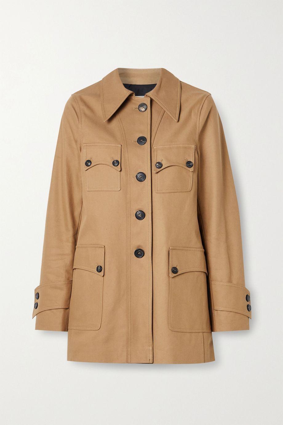 Victoria Beckham Cotton-drill jacket
