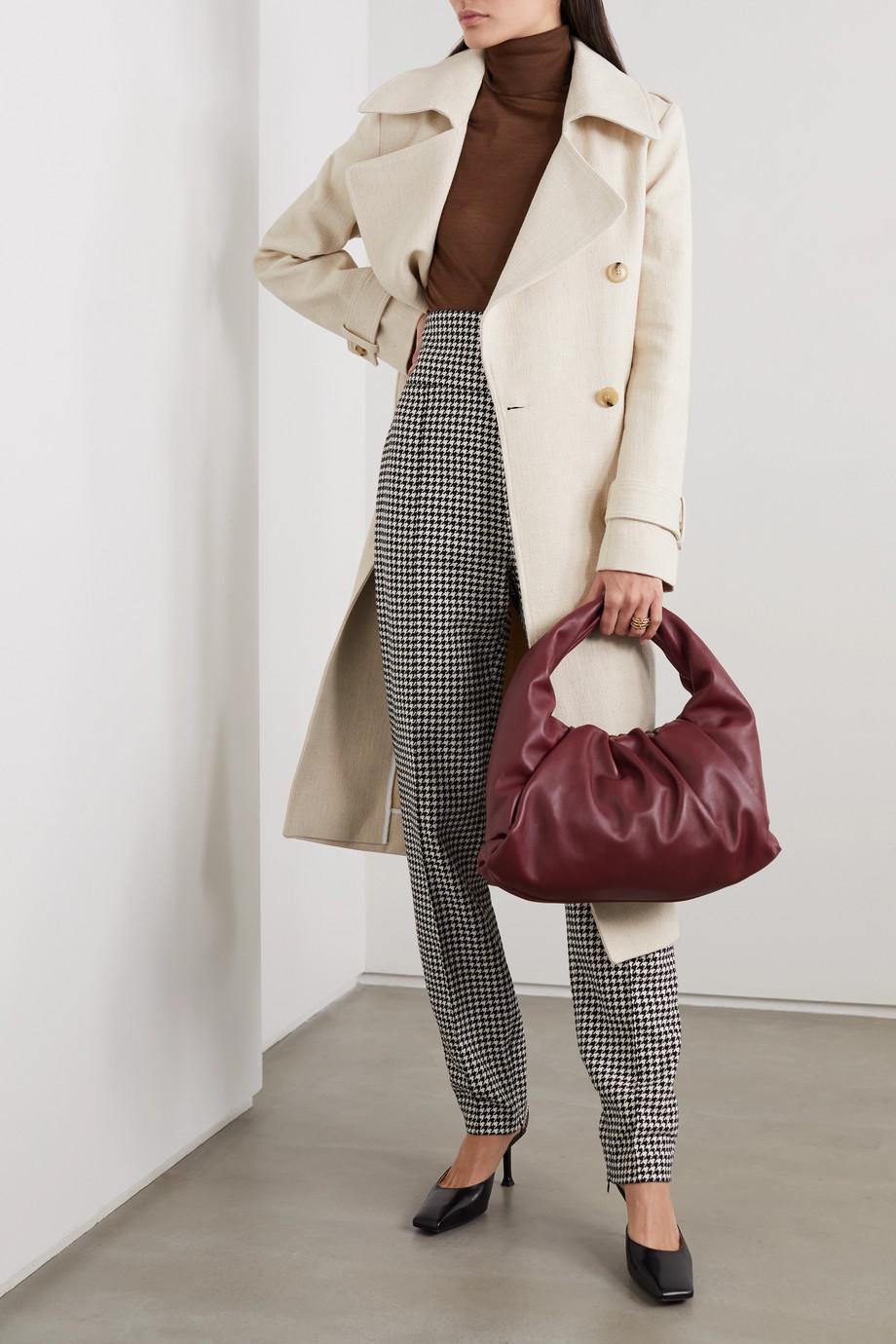 Victoria Beckham Silk turtleneck sweater