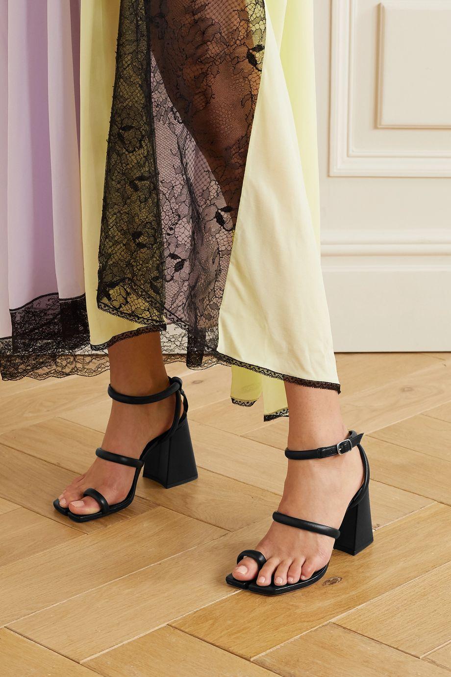 Maison Margiela Split-toe leather sandals