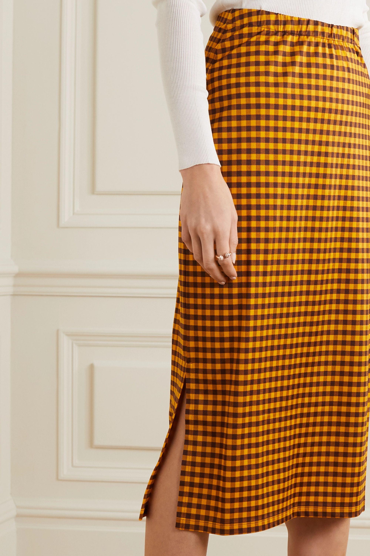 Fendi Crochet-knit midi skirt