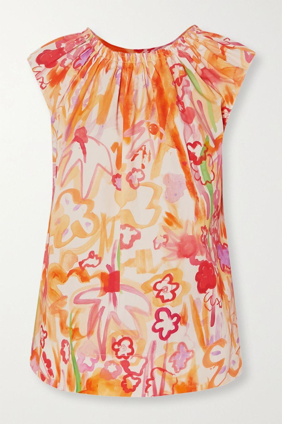 Marni Printed cotton blouse