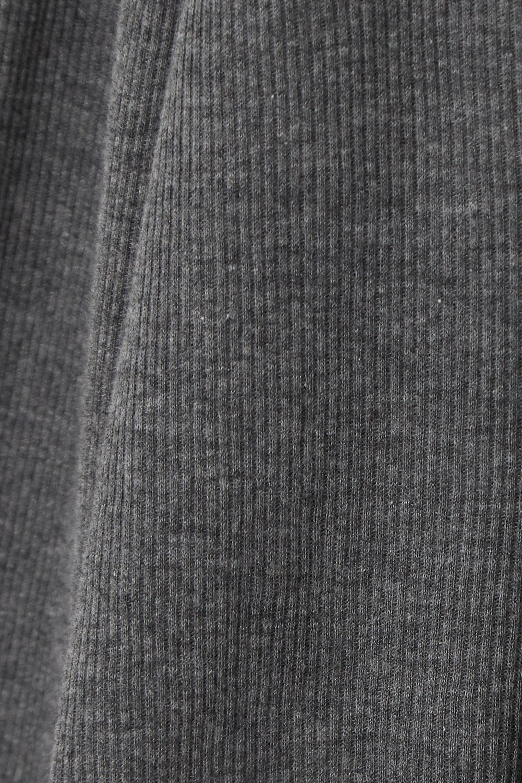 Ninety Percent + NET SUSTAIN Kaye ribbed organic cotton-jersey turtleneck top