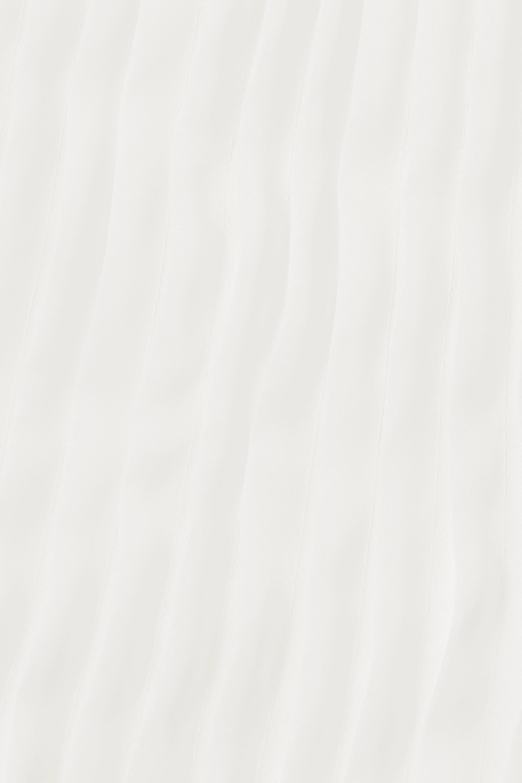 Nina Ricci Ruffled pintucked silk-organza midi dress