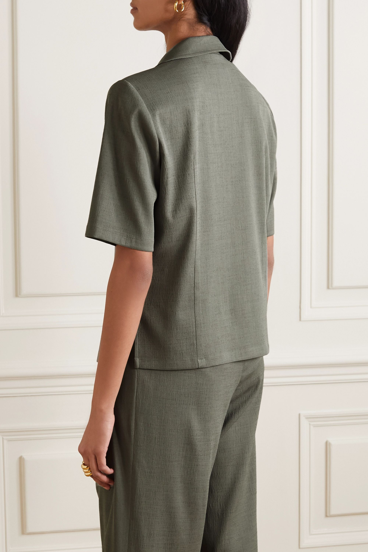 LE 17 SEPTEMBRE 绉纱衬衫