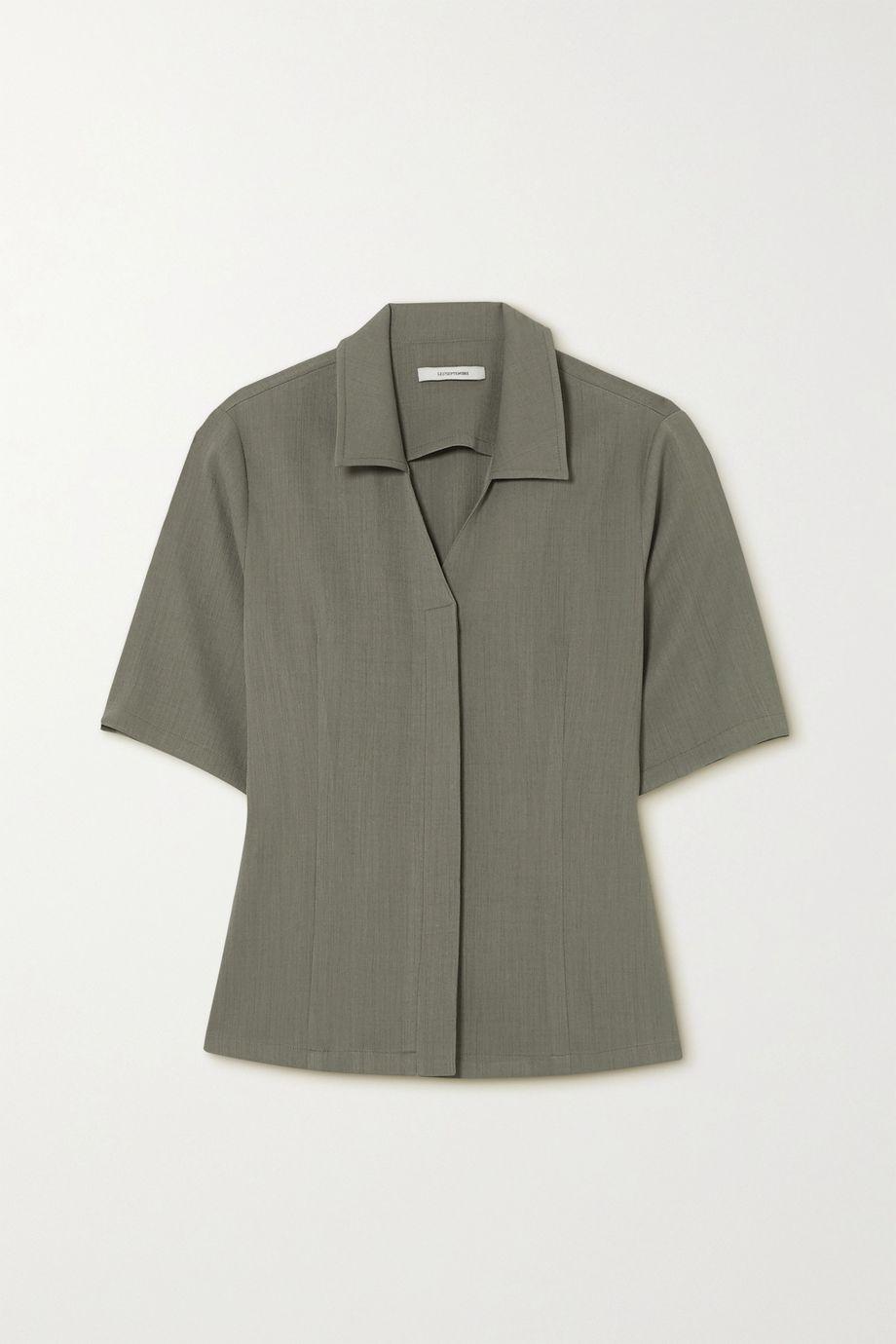 LE 17 SEPTEMBRE Crepe shirt