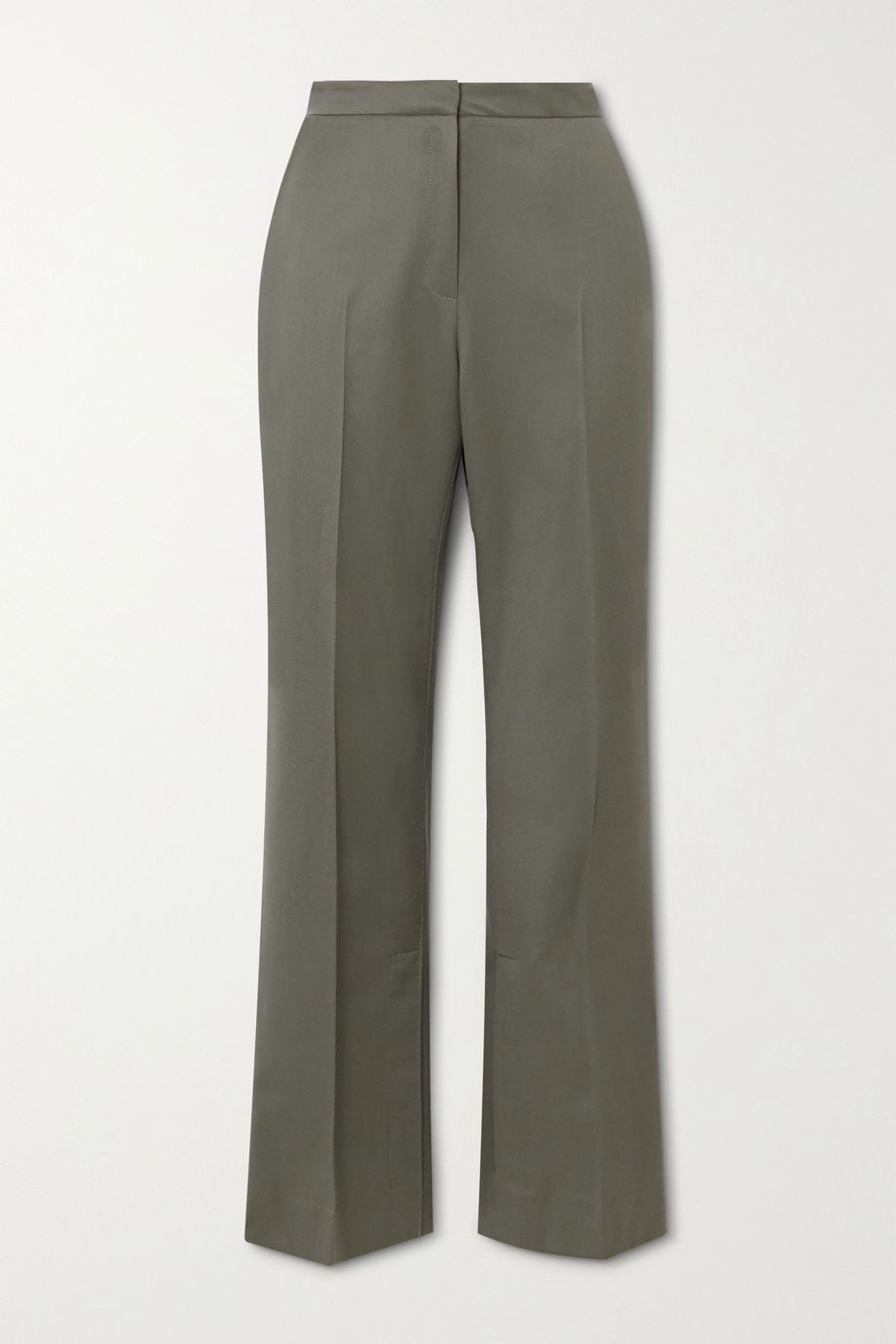 LVIR Wool-twill straight-leg pants