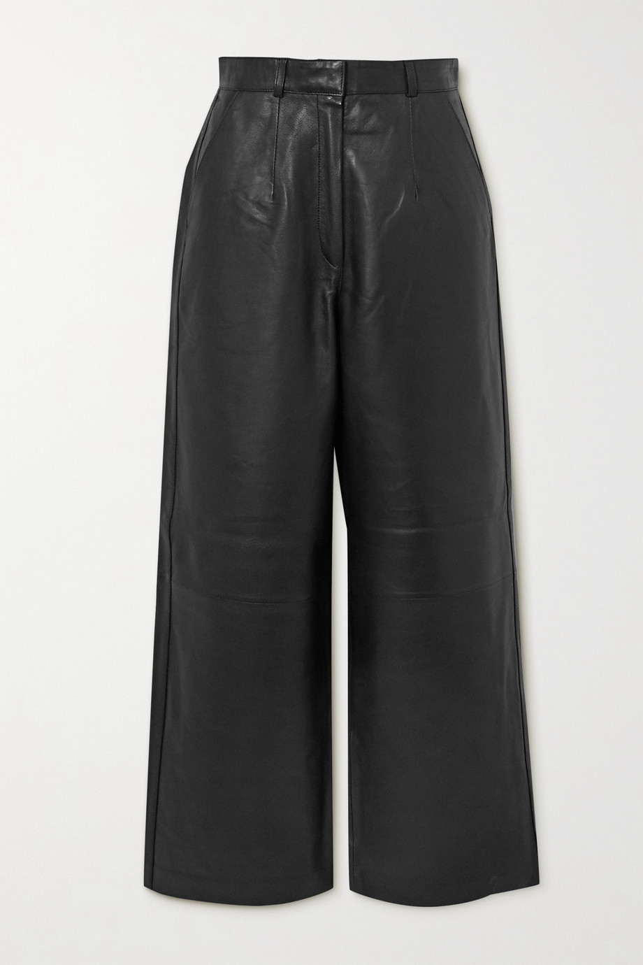 Envelope1976 + NET SUSTAIN Oslo leather wide-leg pants