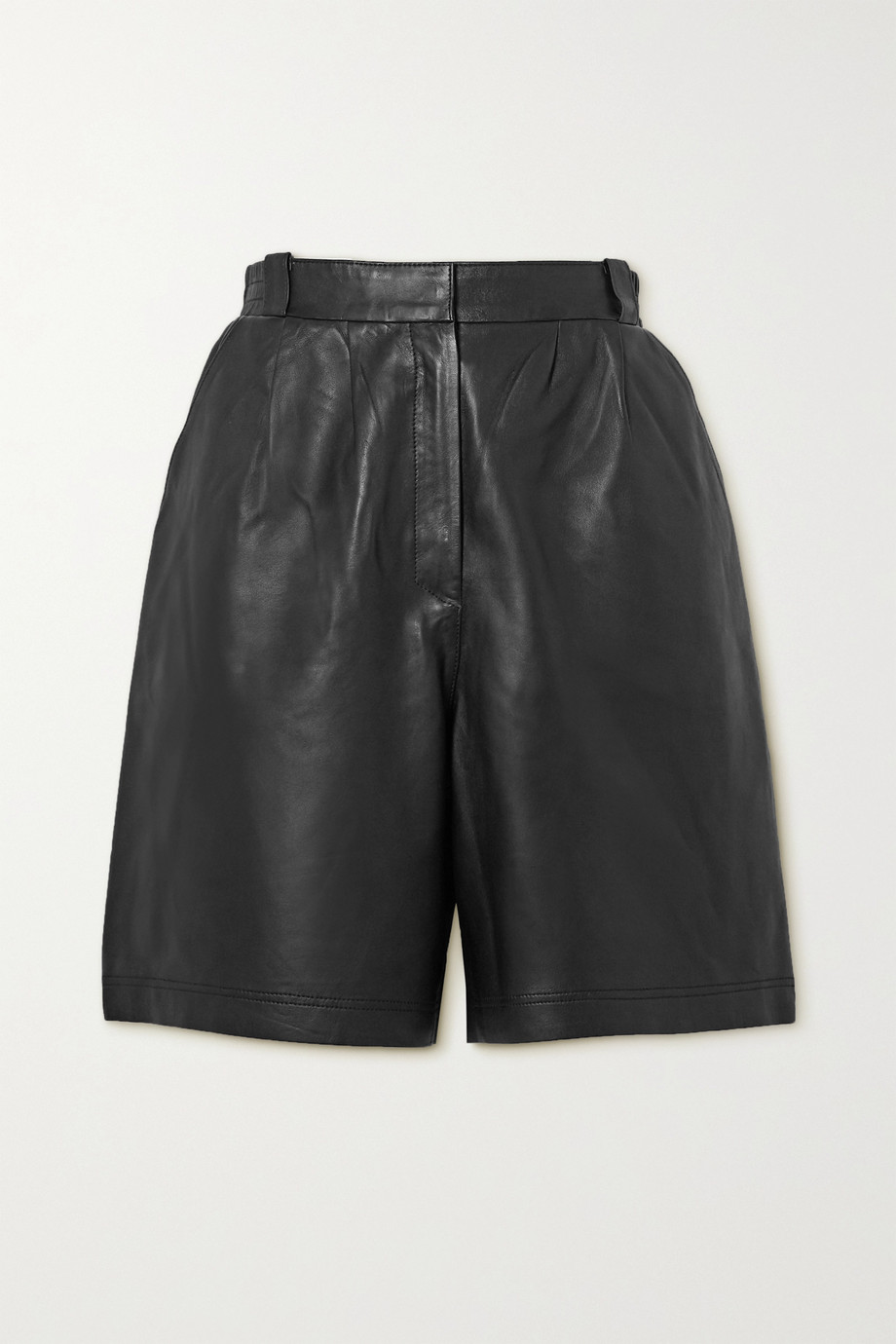Envelope1976 + NET SUSTAIN leather shorts