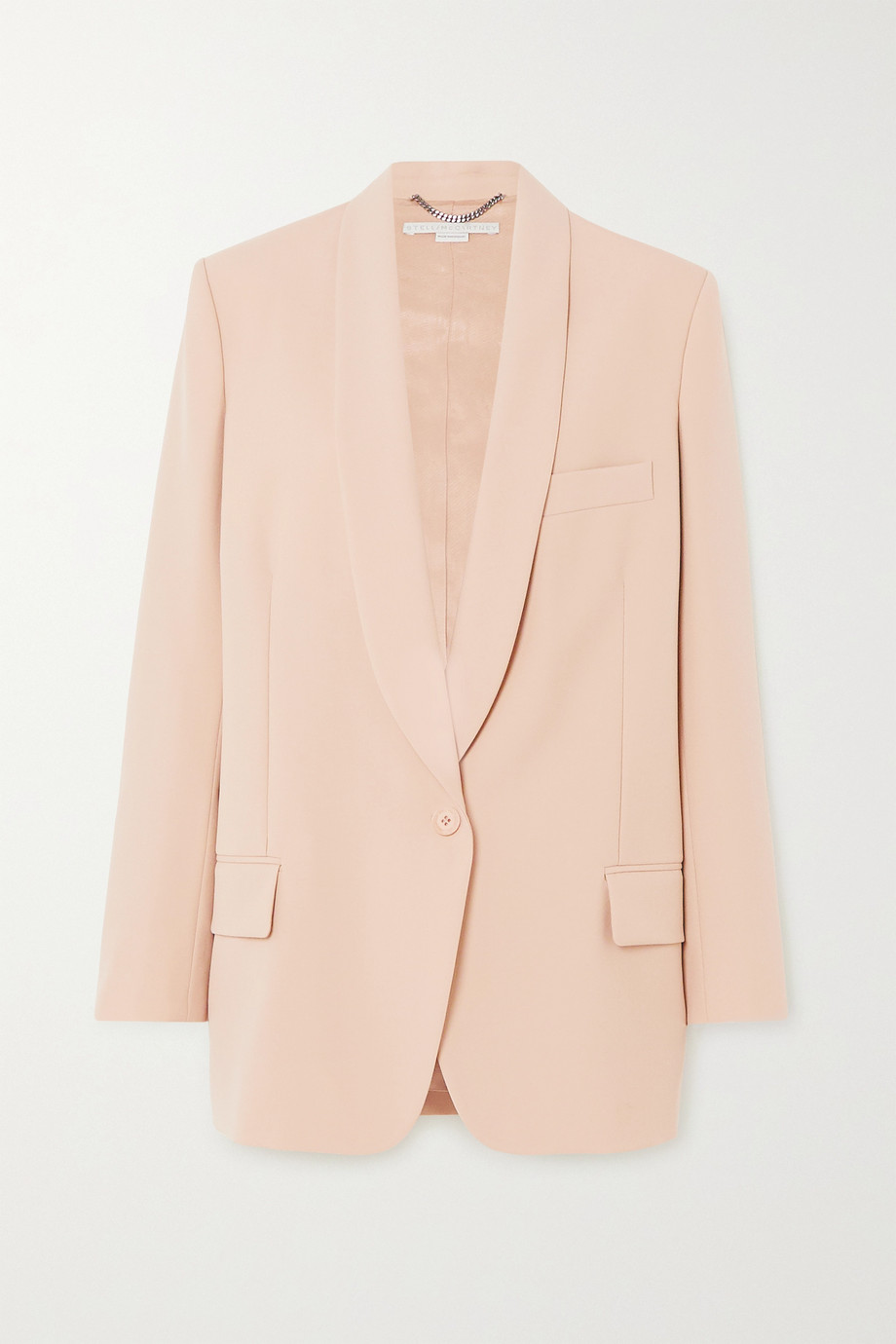 Stella McCartney Allison grain de poudre wool blazer