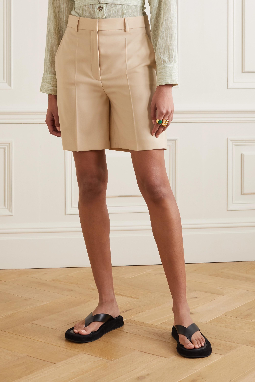 Stella McCartney Amber wool shorts