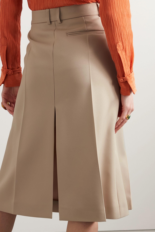Stella McCartney + NET SUSTAIN Alisha twill skirt