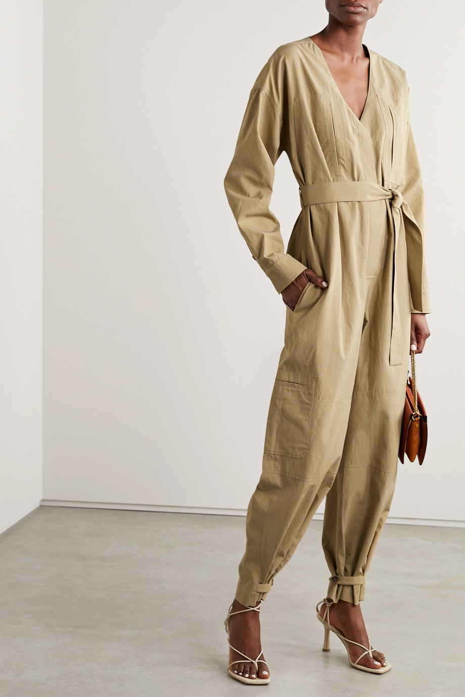 Givenchy Belted woven jumpsuit