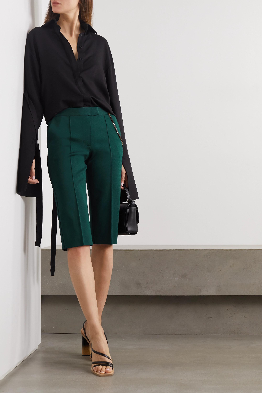 Givenchy Embellished grain de poudre shorts