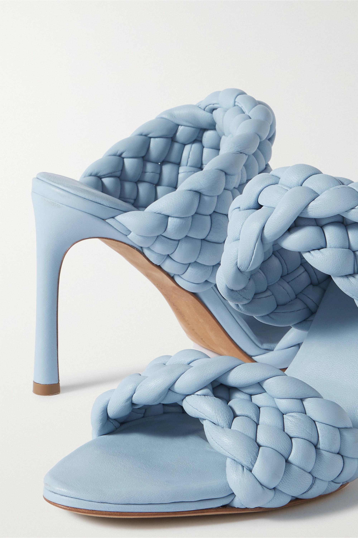 Bottega Veneta Intrecciato 绗缝皮革穆勒鞋