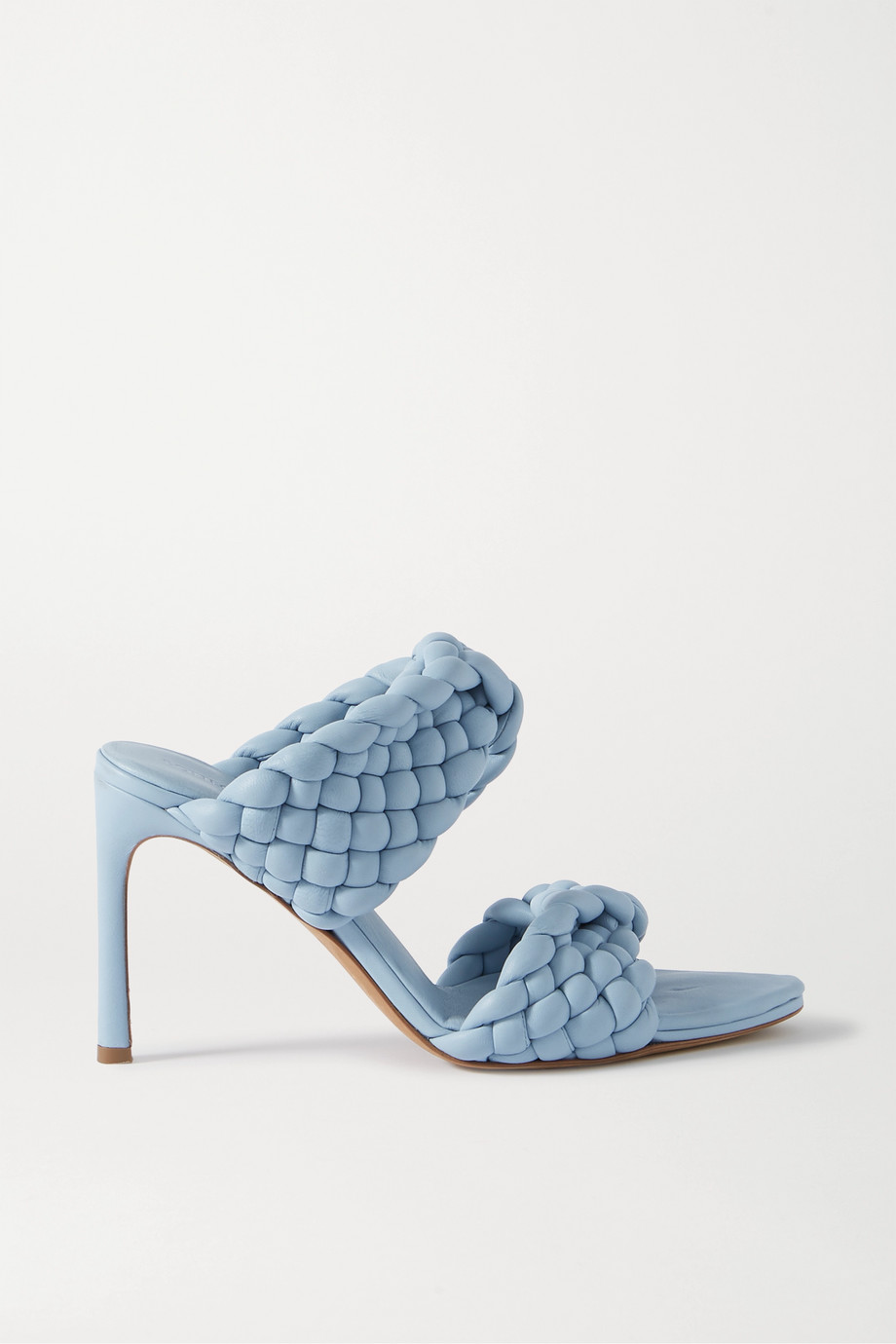Bottega Veneta Intrecciato quilted leather mules