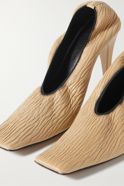 Bottega Veneta Escarpins en cuir texturé