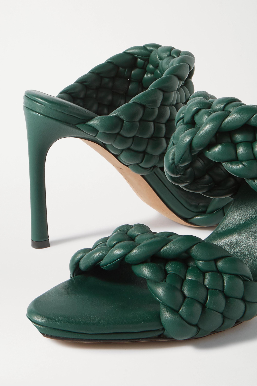 Bottega Veneta Intrecciato quilted leather mules