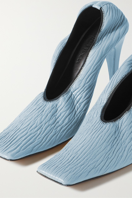 Bottega Veneta Textured-leather pumps