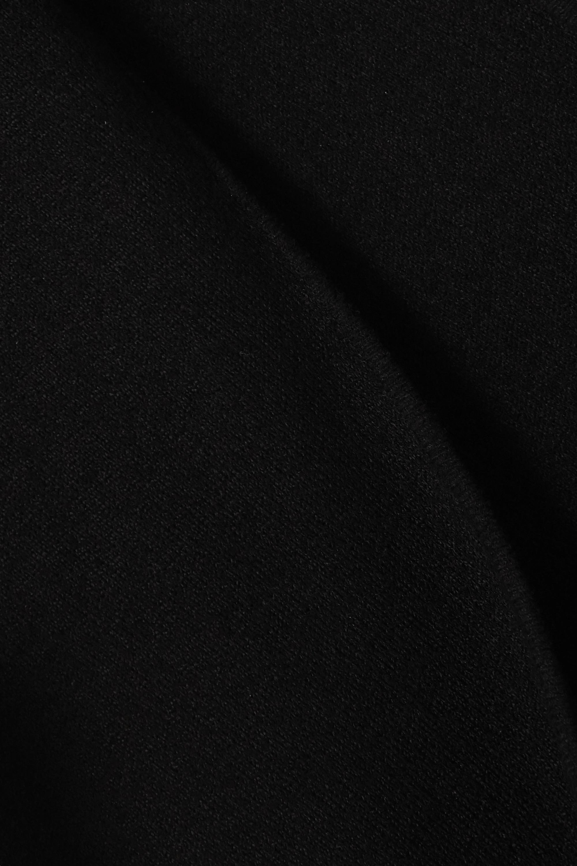 Bottega Veneta Midikleid aus Stretch-Strick mit asymmetrischer Schulterpartie