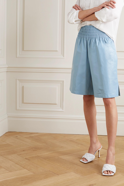 Bottega Veneta 皮革短裤