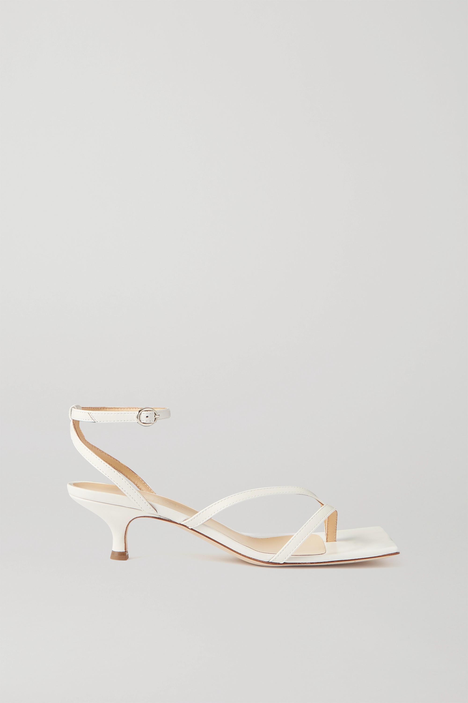 A.W.A.K.E. MODE Delta Low 皮革凉鞋