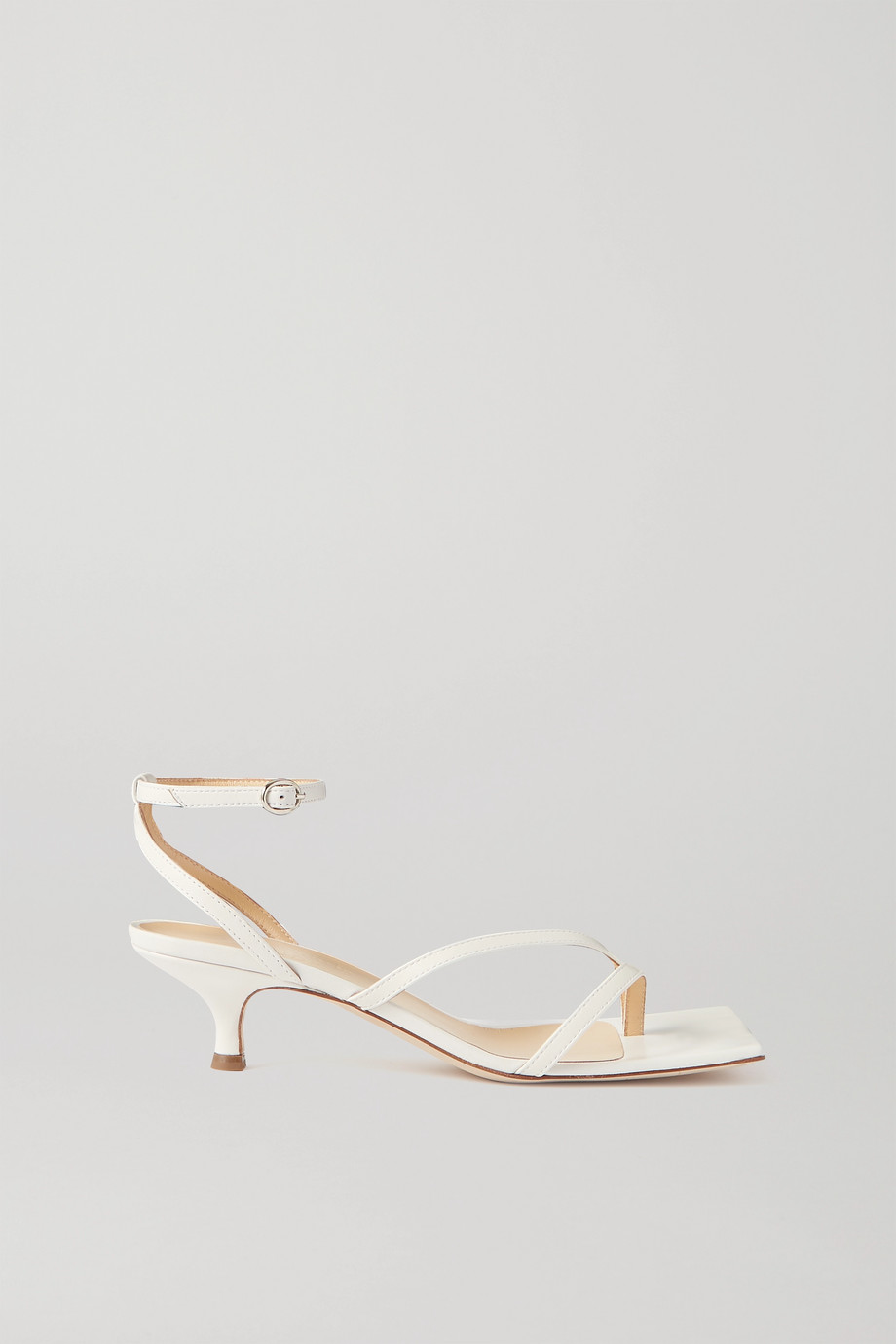 A.W.A.K.E. MODE Delta Low leather sandals