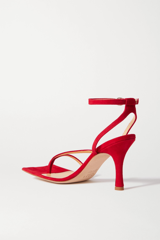 A.W.A.K.E. MODE Delta High suede sandals