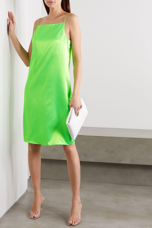 Kwaidan Editions Neon satin dress