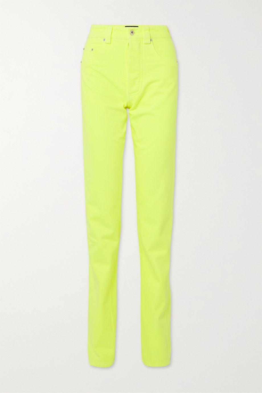 Kwaidan Editions Neon high-rise straight-leg jeans