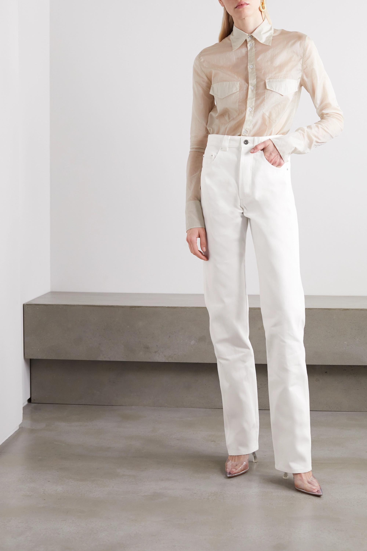 Kwaidan Editions 高腰直筒牛仔裤