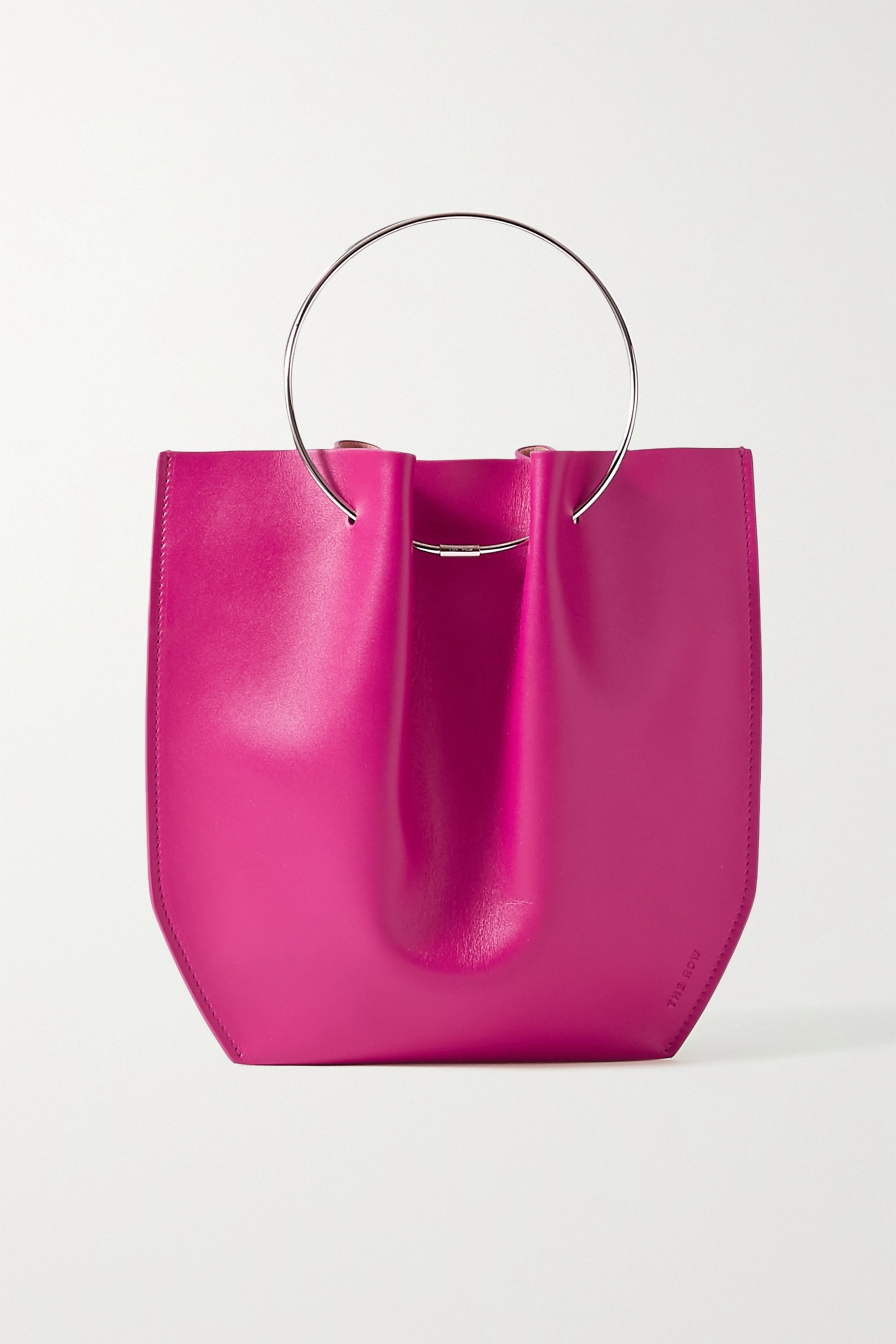 The Row Flat Circle leather tote