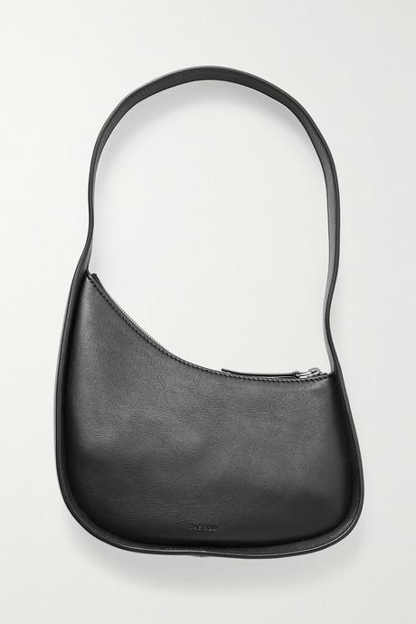 Black Half Moon leather shoulder bag | The Row EGHIGj