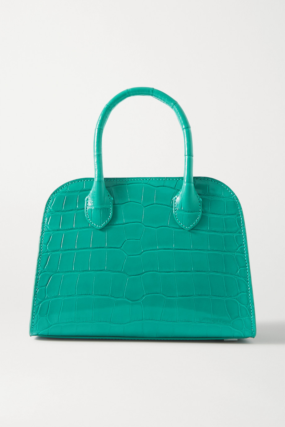 The Row Margaux 7.5 alligator tote