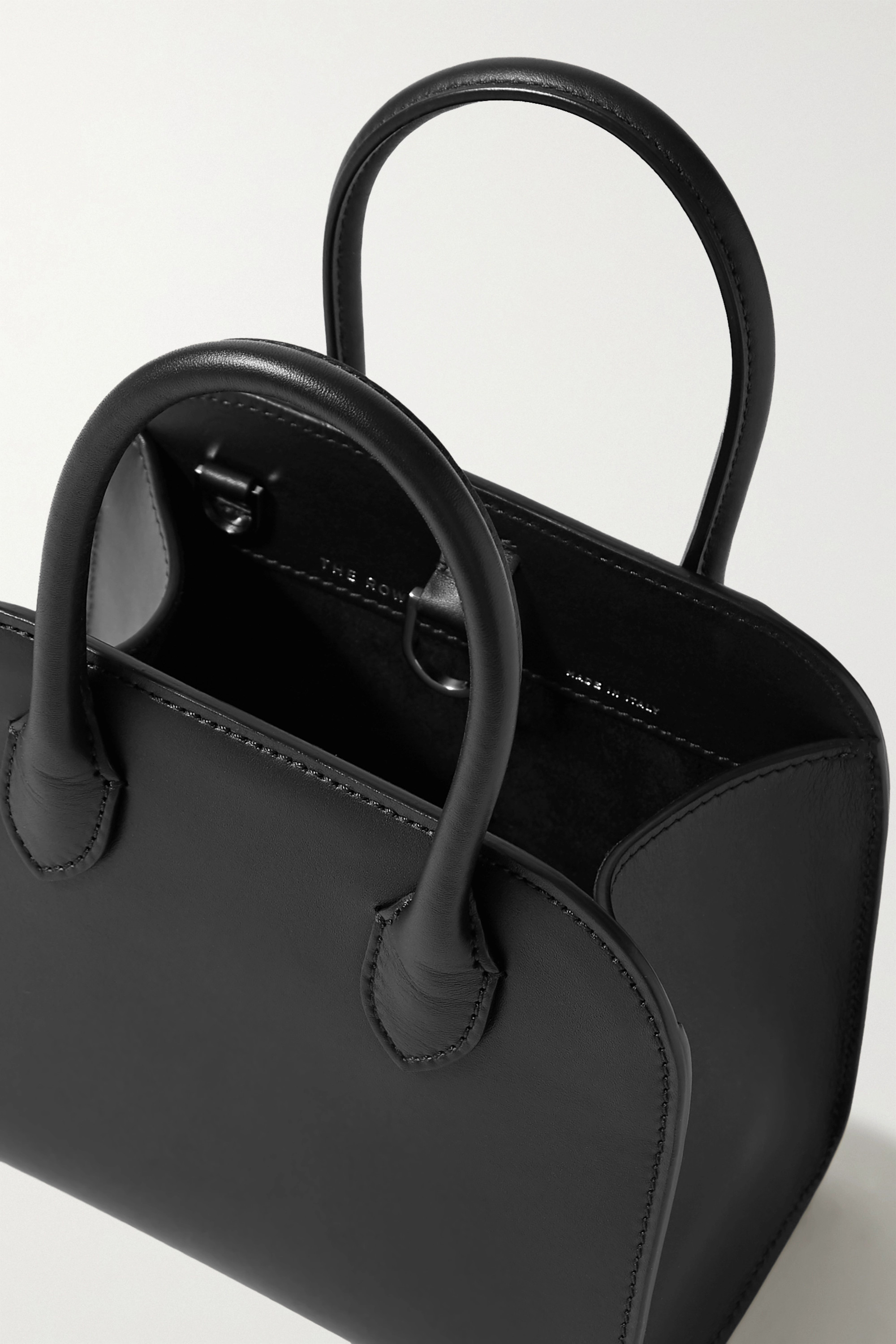 The Row Margaux 7.5 leather tote