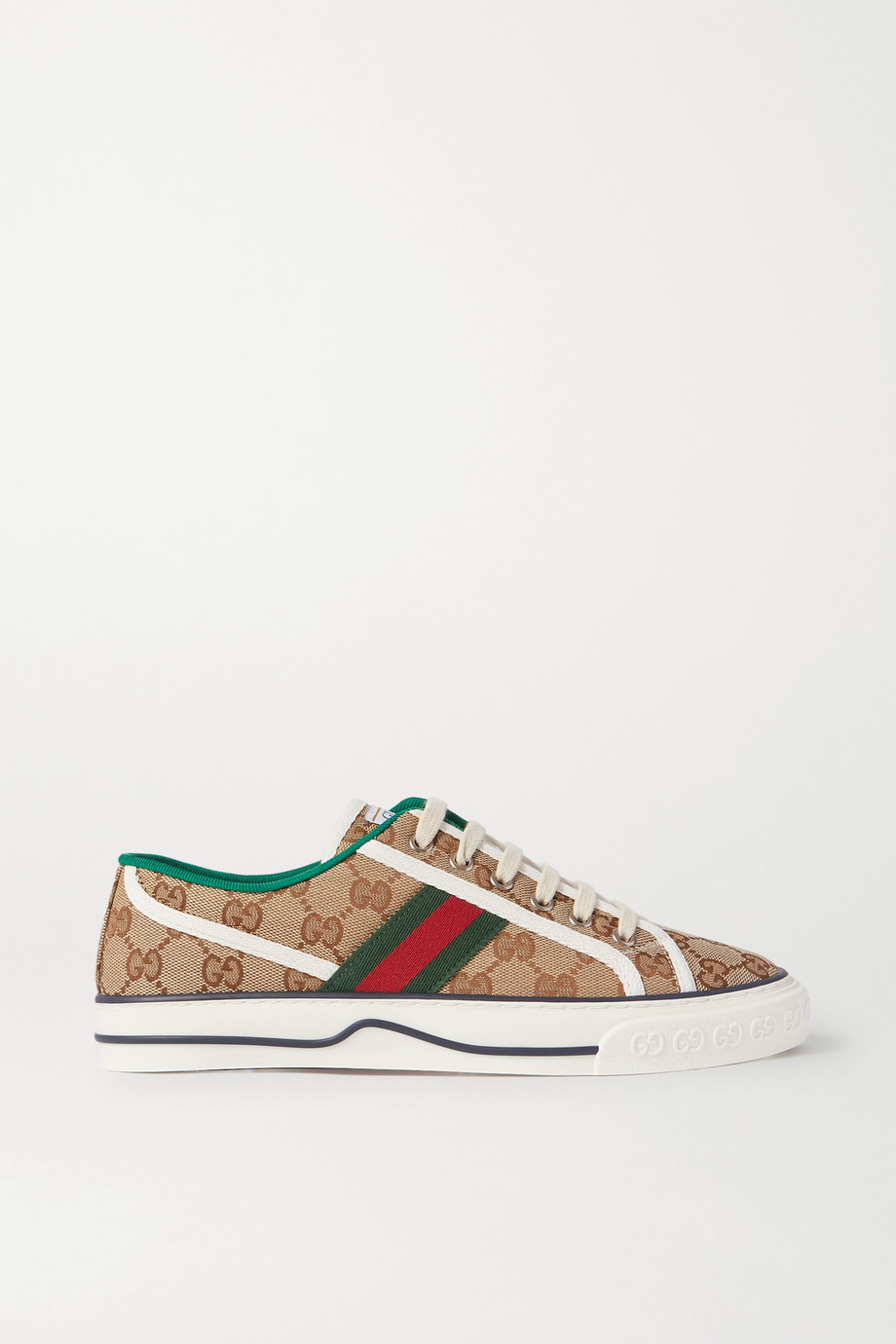 Gucci Tennis 1977 logo-embroidered canvas sneakers