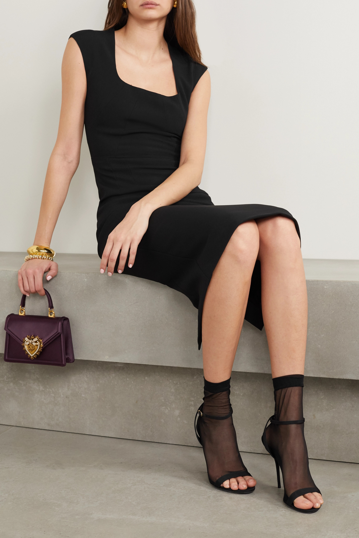Dolce & Gabbana Sandales en tulle et en gros-grain