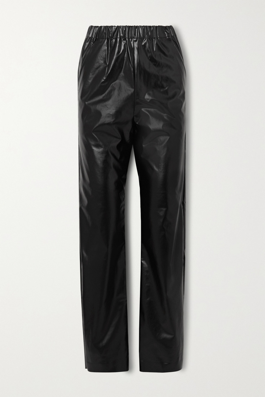 Kassl Editions Vinyl straight-leg pants